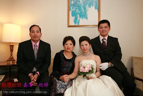 婚攝 嘉澤、欣婷 台北第一大飯店
