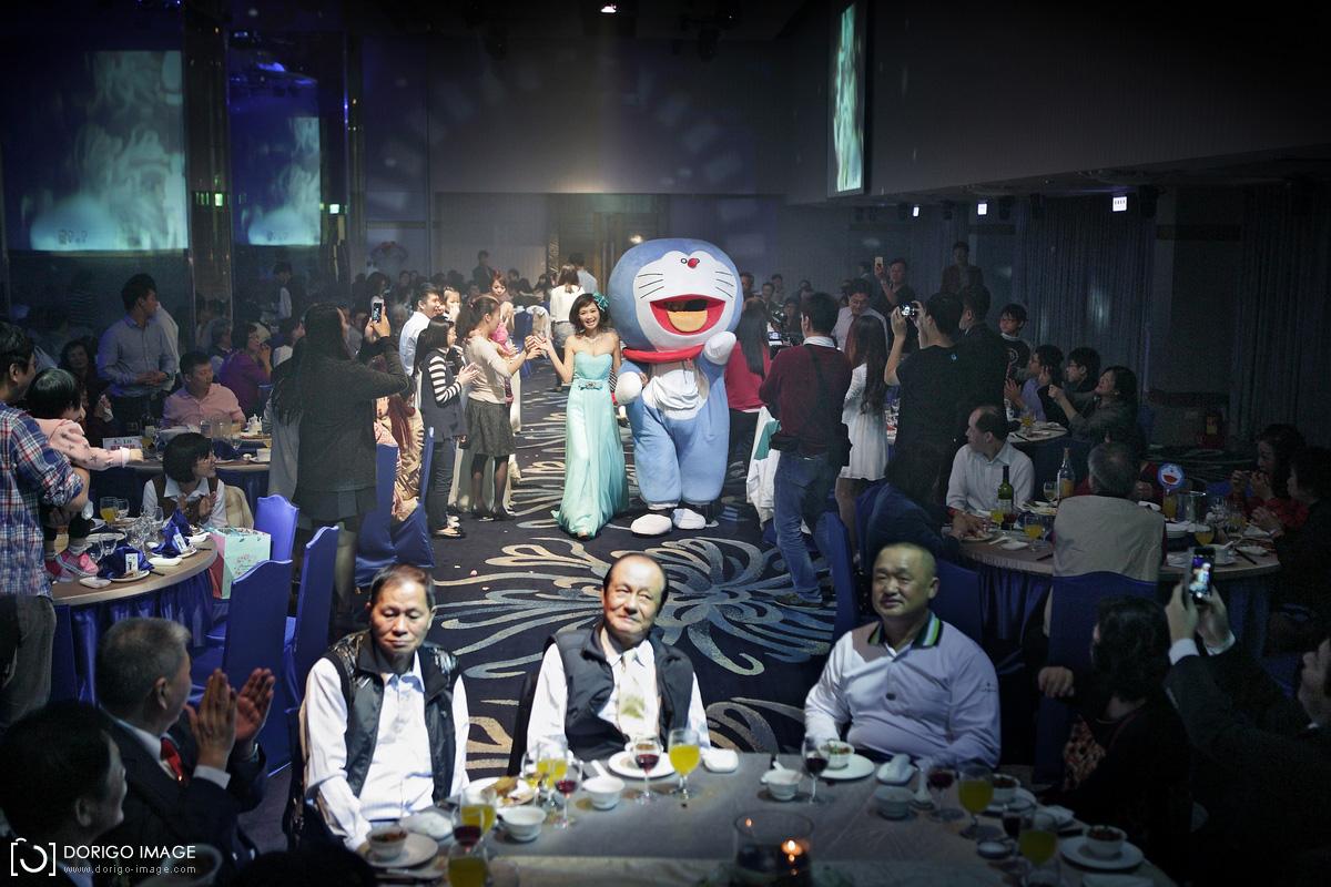 小叮噹主題婚禮