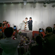 婚禮攝影 子麟、怡靜 新店豪鼎飯店 午宴