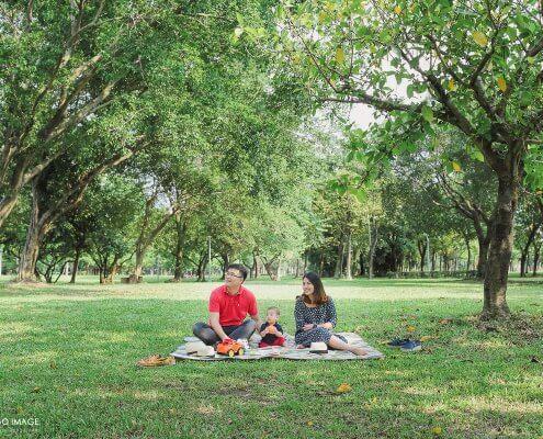 寶寶寫真 Joey 6M 台北大安森林公園