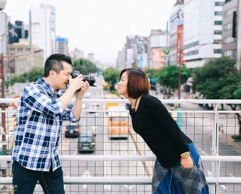 台北西門町Ricky、Jackie香港夫妻情侶寫真