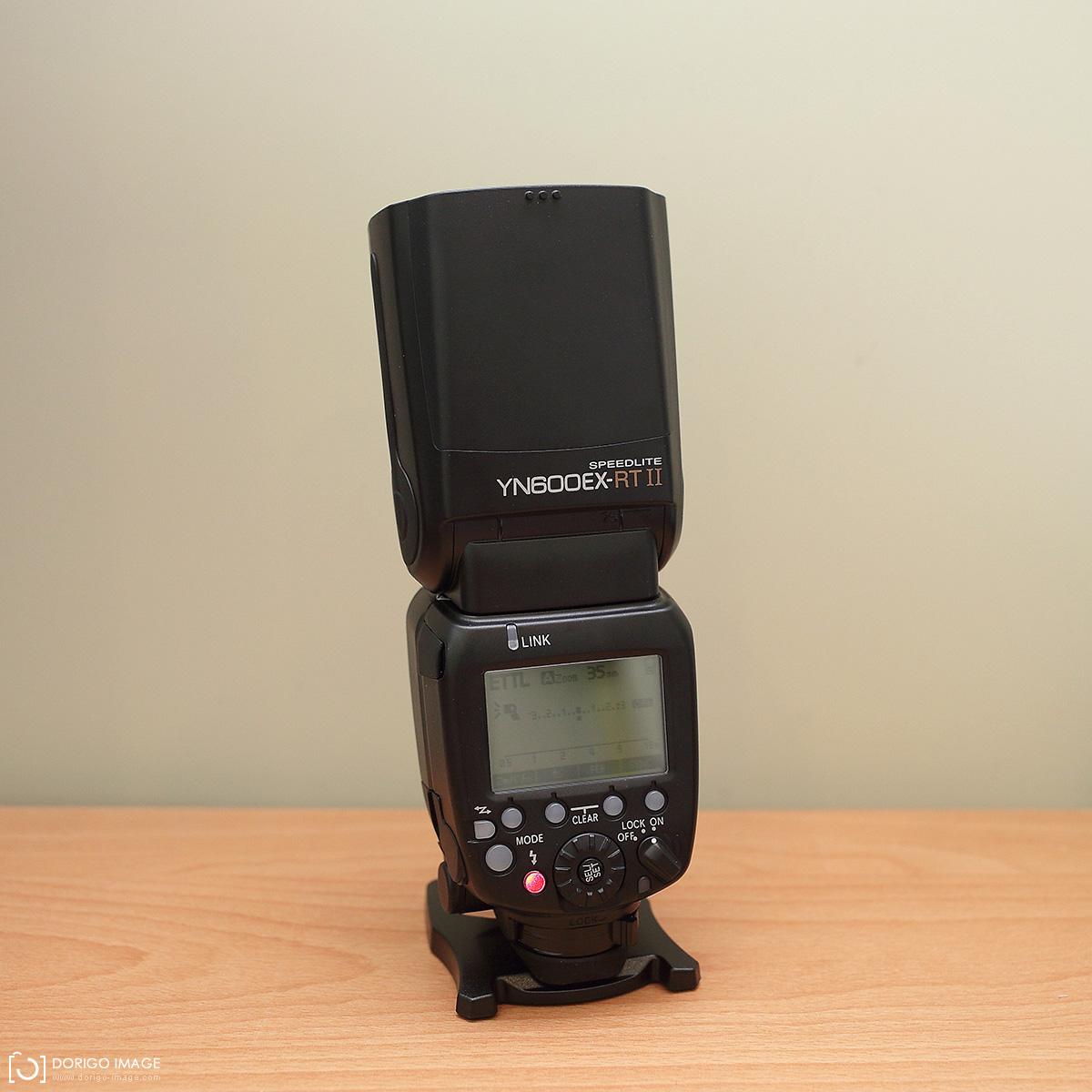 永諾專業創作型閃光燈YN600EX-RT II
