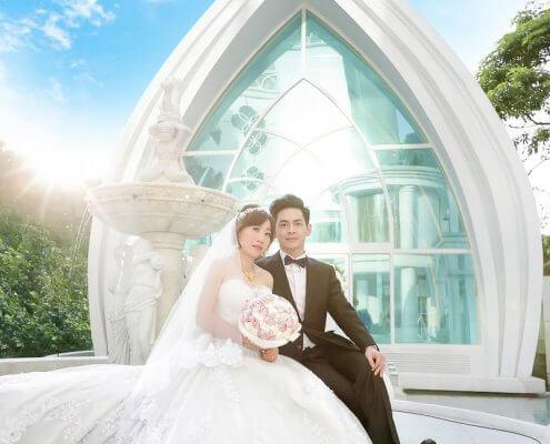 婚禮攝影 峻德、佳盈 新店、竹南迎娶 星靓點花園飯店 晚宴
