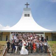 婚禮攝影 博閔、穎蘋 淡水聖約翰科大降靈堂教堂婚禮 晶宴民生館