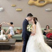 婚禮攝影 晨瑋、怡君 文定迎娶 午宴星靚點花園飯店