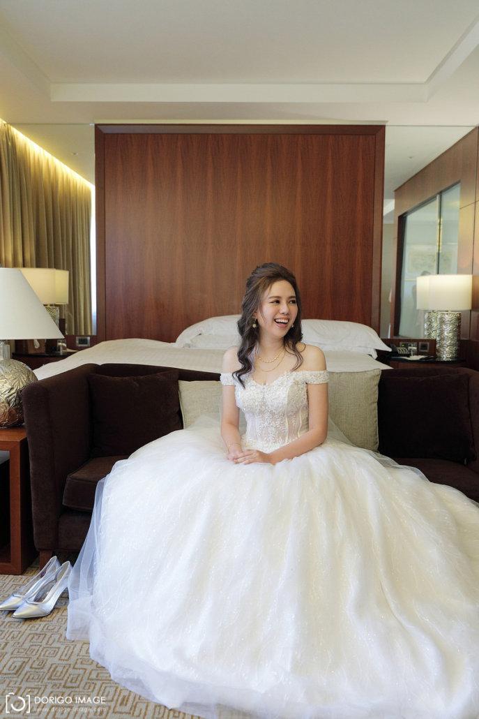 台北婚攝 仲時、穎樓 迎娶 台北喜來登午宴