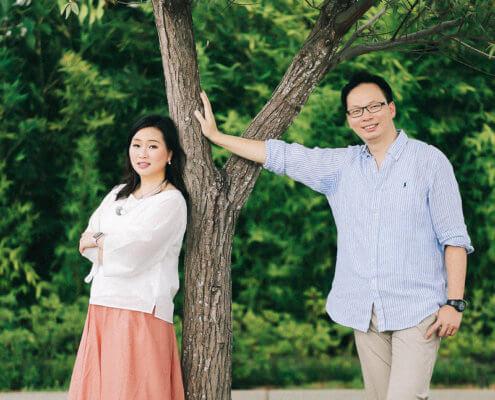 結婚五周年紀念 香港 Patrick & Katherine 台北北投麗禧溫泉酒店