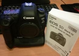 Canon 5D4 在拍攝後螢幕無法即時顯示照片事件