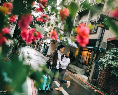 台北情侶寫真 Adam & Sophia 永康街寶藏巖台灣大學