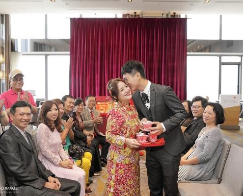台北婚攝 長志、家榛 文定 萬華格來天漾大飯店