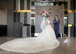 桃園婚攝 明儒、容均 迎娶櫻珍大飯店 午宴來福星餐廳
