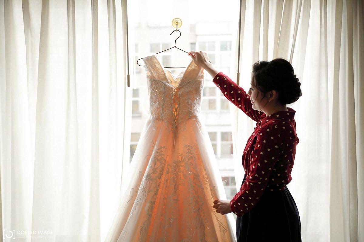 台北婚攝 天閣酒店造型 彭園華麗宴會廳宴客