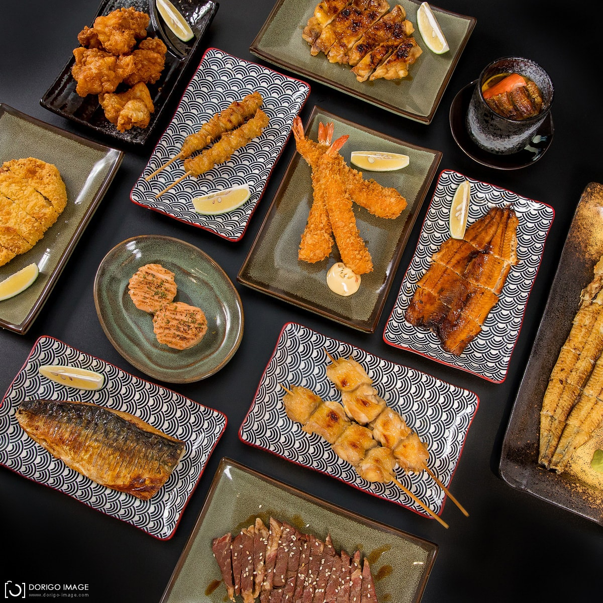 日式料理美食拍攝