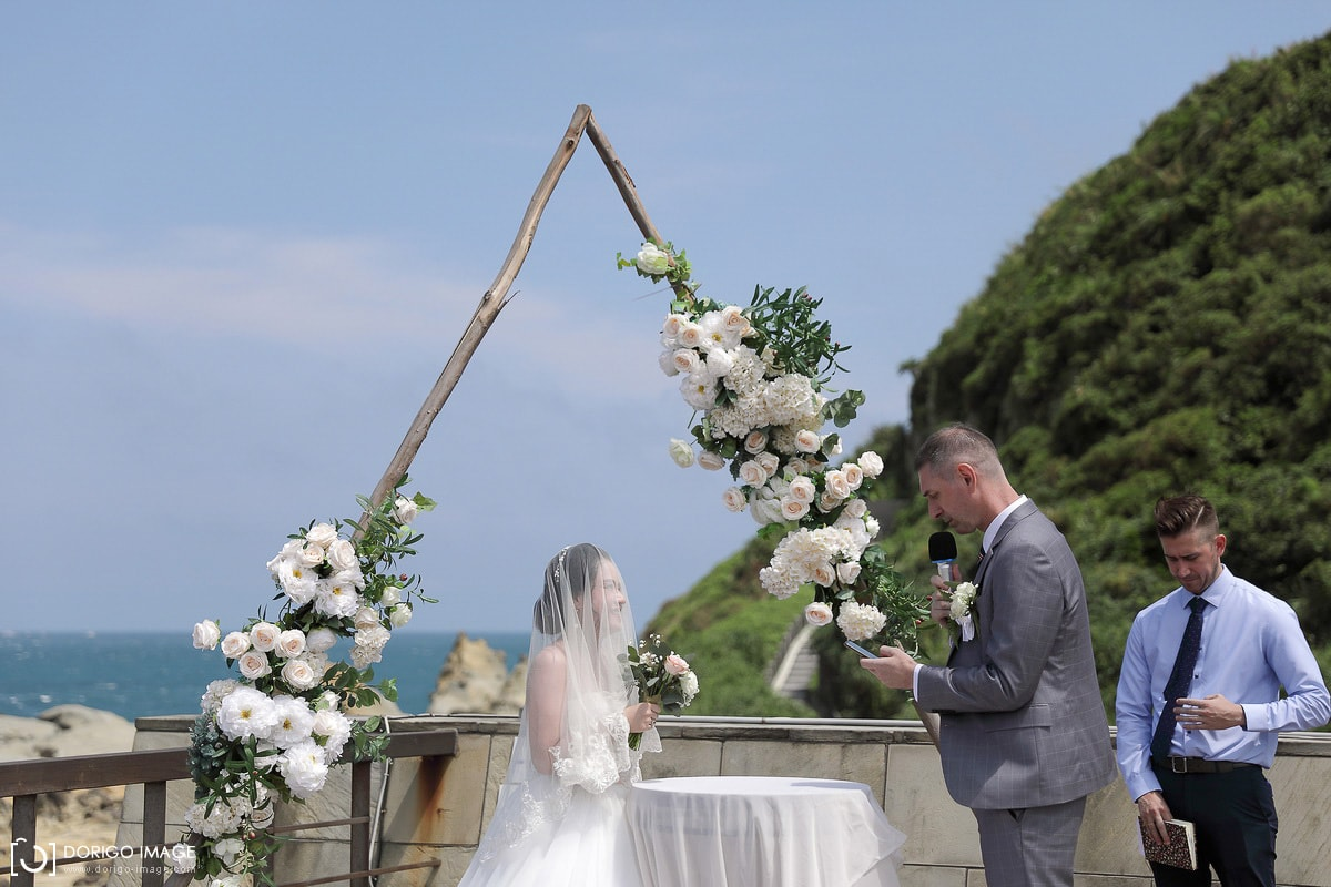 基隆迎娶 和平島 樂品喜塘 戶外婚禮